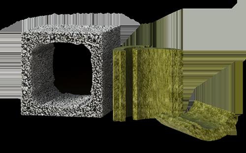 Изоляция и наружные блоки Дымоходов AWT