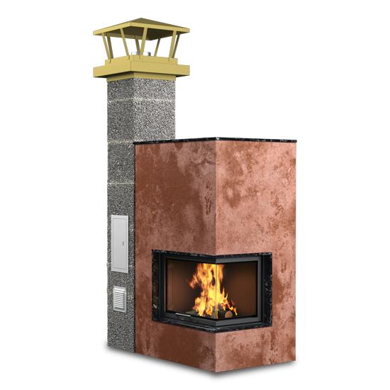 Дымоходы AWT для каминов